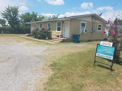 Wilburton Multi Family Home For Sale: 201 Center Point Road
