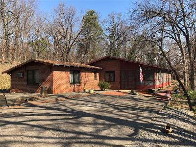 Hulbert OK Single Family Home For Sale: $249,000