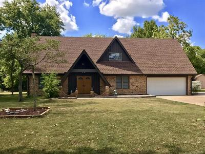 Coweta Single Family Home For Sale: 11882 S 274th East Avenue