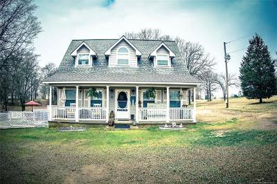 Sallisaw Single Family Home For Sale: 114274 S 4615 Road