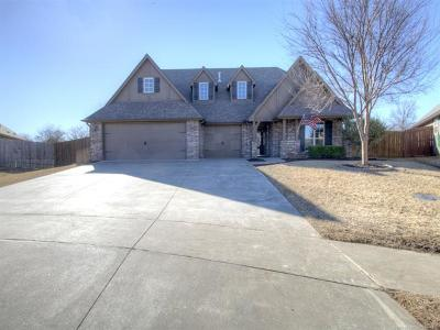 Owasso Single Family Home For Sale: 12008 E 105th Place North