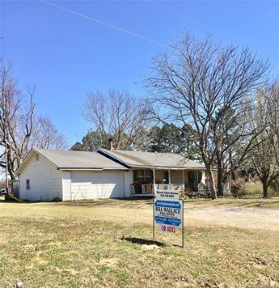 Henryetta Single Family Home For Sale: 24460 S 200th Road