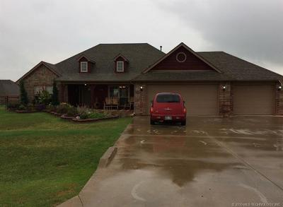 Collinsville Single Family Home For Sale: 9477 E 139th Street
