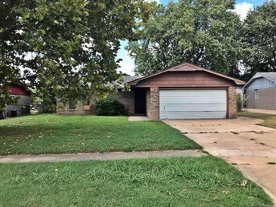 Muskogee Single Family Home For Sale: 1313 S 37th Street
