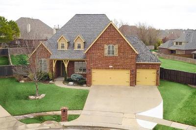Broken Arrow, Jenks, Tulsa Single Family Home For Sale: 4021 W Twin Oaks Street