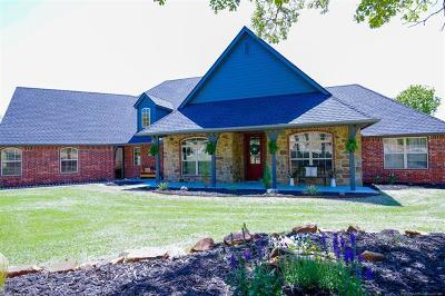 Creek County Single Family Home For Sale: 10250 S 195th West Place