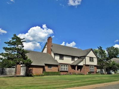 Tahlequah Single Family Home For Sale: 505 Greenwood Drive
