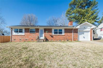 Sand Springs Single Family Home For Sale: 806 N Woodland Street