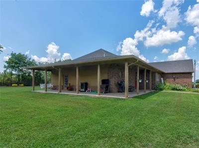 Creek County Single Family Home For Sale: 17850 Slick Road