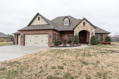 Collinsville Single Family Home For Sale: 14864 N 148th East Avenue