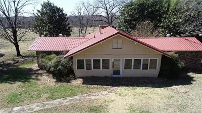 Tahlequah Single Family Home For Sale: 19849 S 540 Road