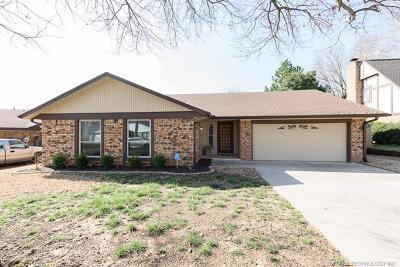 Sapulpa Single Family Home For Sale: 1820 Valley Road
