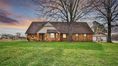 Catoosa Single Family Home For Sale: 308 S 258th East Avenue