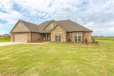Coweta Single Family Home For Sale: 11328 S 282nd East Avenue