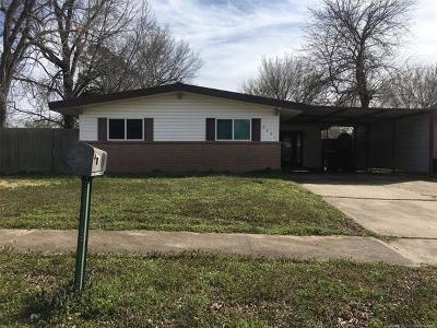 Muskogee Single Family Home For Sale: 2801 Elizabeth Street