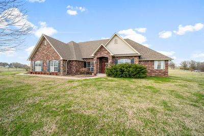 Claremore Single Family Home For Sale: 8955 E 527 Road