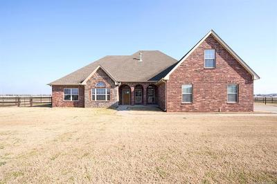 Collinsville Single Family Home For Sale: 5955 E 145th Street North