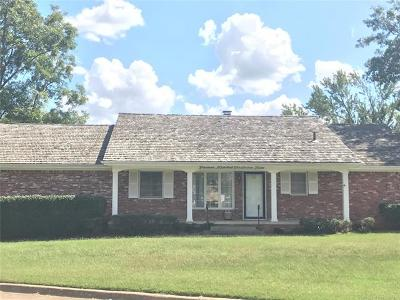 Okmulgee Single Family Home For Sale: 1900 Crestview Drive