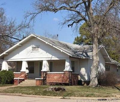Pawhuska Single Family Home For Sale: 823 E 9th Street