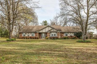 Park Hill OK Single Family Home For Sale: $215,000