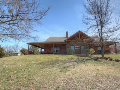 Kellyville Single Family Home For Sale: 14435 S 177th West Avenue