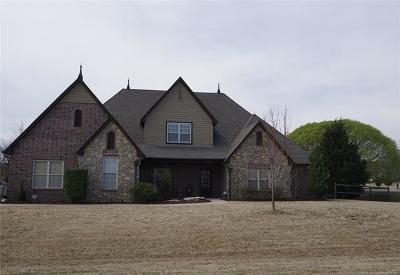 Owasso Single Family Home For Sale: 8480 N 69th East Avenue