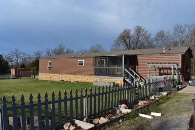 Park Hill Manufactured Home For Sale: 26055 S Sandbass Run Road