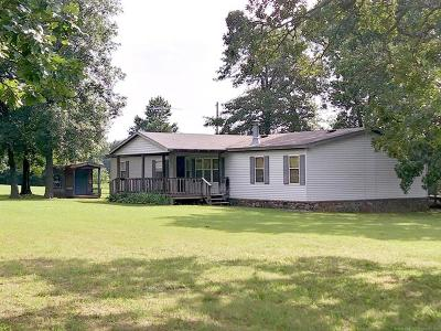 Cherokee County Manufactured Home For Sale: 21449 E Horseshoe Bend Road