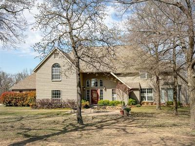 Tulsa Single Family Home For Sale: 9332 S 36th West Avenue