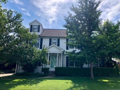 Tulsa Single Family Home For Sale: 1931 S Evanston Avenue