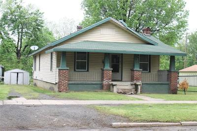 Muskogee Single Family Home For Sale: 2426 Court Street
