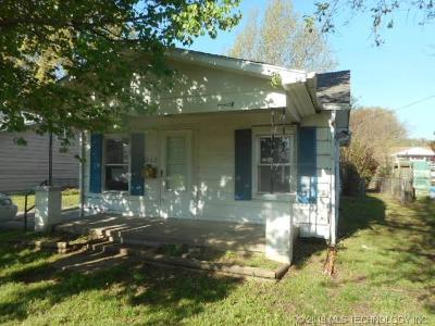 Muskogee Single Family Home For Sale: 1227 Patterson Street