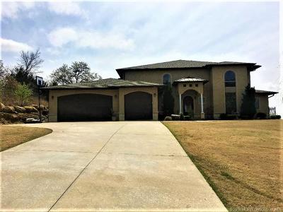 Sand Springs Single Family Home For Sale: 22 E Ridgeview Drive