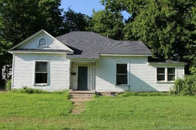 Muskogee Single Family Home For Sale: 1018 Denver Street