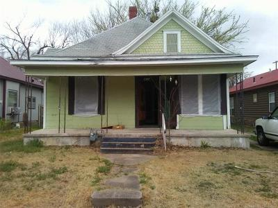 Muskogee Single Family Home For Sale: 1227 Ash Street