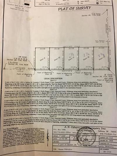 Sallisaw Residential Lots & Land For Sale: 1120 Road