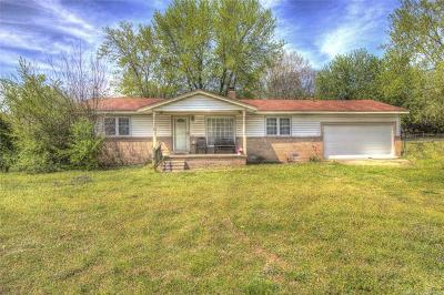 Claremore Single Family Home For Sale: 25722 S 4110 Road