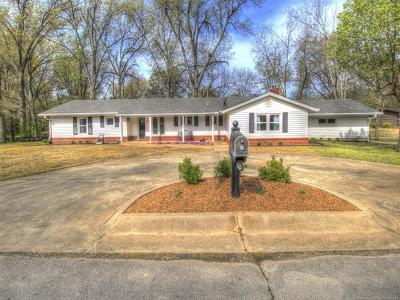 Pryor Single Family Home For Sale: 1412 Willow Road