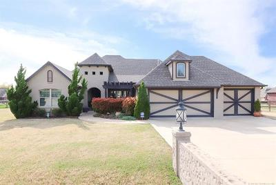 Collinsville Single Family Home For Sale: 14884 N 148th East Avenue