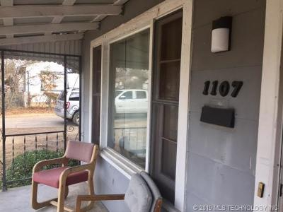Tahlequah OK Single Family Home For Sale: $77,500