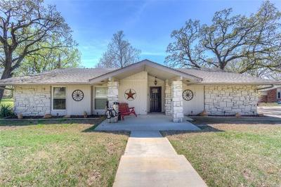 Sapulpa Single Family Home For Sale: 1102 Burroughs Road