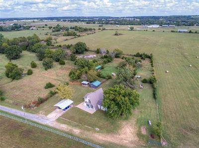 Kellyville Single Family Home For Sale: 14455 Farley Road
