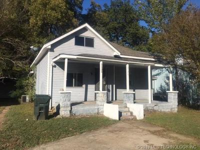 Muskogee Single Family Home For Sale: 2128 Columbus Street N
