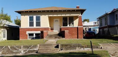 Bristow OK Single Family Home For Sale: $97,000