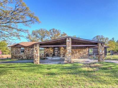 Sapulpa Single Family Home For Sale: 16067 S Main Street