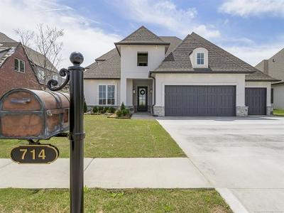 Jenks OK Single Family Home For Sale: $639,900