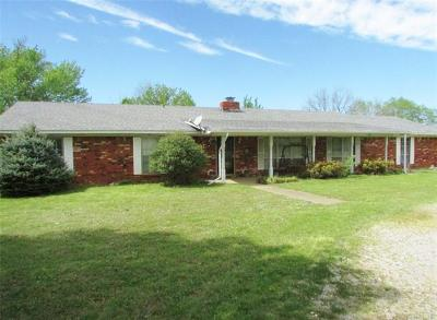 Muskogee Single Family Home For Sale: 5375 Sally Brown Road
