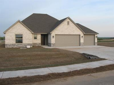 Claremore Single Family Home For Sale: 2661 S Piguet Lane