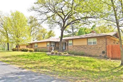 Wagoner Single Family Home For Sale: 32320 E 723 Road
