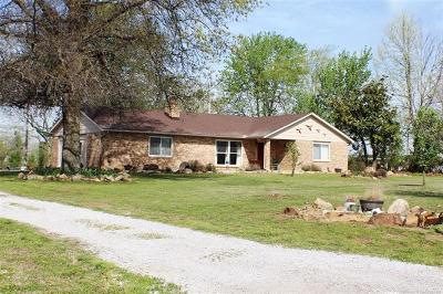 Coweta Single Family Home For Sale: 12994 S 267th East East Avenue